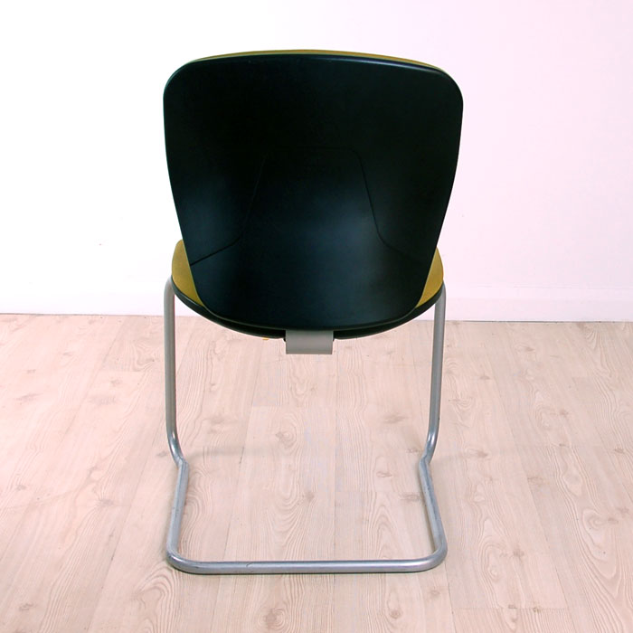 posture chair with back cheap vanity green cantilever meeting | on base ergonomic